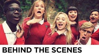 High School Dance Battle (Choir Kids) - Behind the Scenes