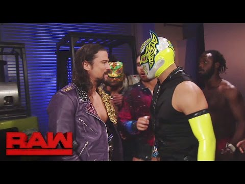 Chaos erupts among the Cruiserweights: Raw, Nov. 14, 2016