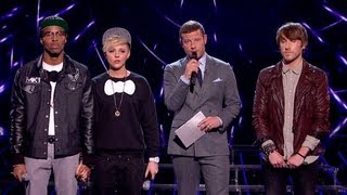 The Result - Live Week 3 - The X Factor UK 2012