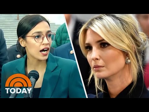 Alexandria Ocasio Cortez And Ivanka Trump s Twitter Feud About Green New Deal TODAY
