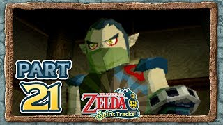 The Legend of Zelda: Spirit Tracks - Part 21 - Fire Rail Map!
