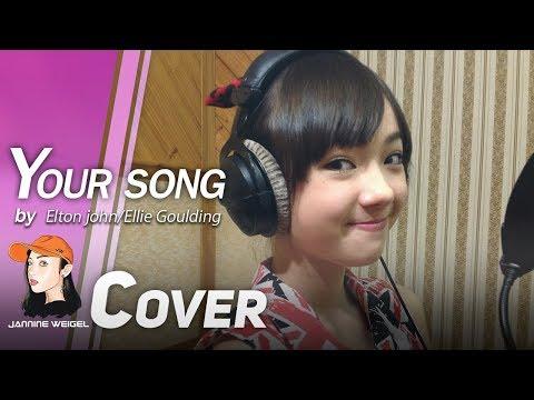 Xxx Mp4 Your Song Elton John Ellie Goulding Cover By 12 Y O Jannine Weigel 3gp Sex