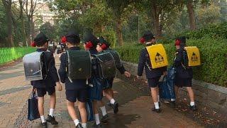 Japan encourages parents to let kids walk to school solo