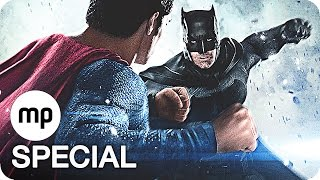 BATMAN vs SUPERMAN Film Clips & Trailer German Deutsch (2016)