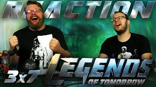 Legends of Tomorrow 3x7 REACTION!!