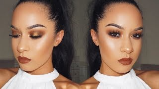 Chit Chat Get Ready With Me | Fall Makeup