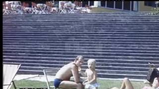 Resort Holiday In Europe, 1960s - Film 97792