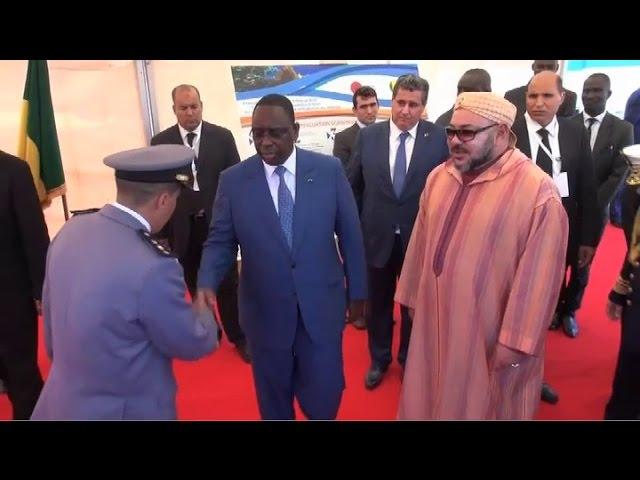 Don de zodiacs de surveillance maritime du Maroc au Sénégal