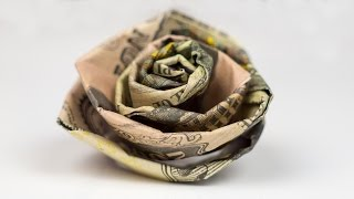 Money Gift Wedding Rose - Cash Crafting Tutorial