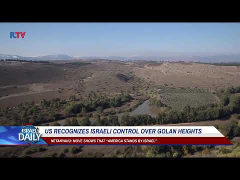 Xxx Mp4 US Recognizes Israeli Control Over Golan Heights Your News From Israel 3gp Sex