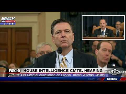 FNN James Comey Testifies about Russian Interference in Election Wiretap Claims PART 1