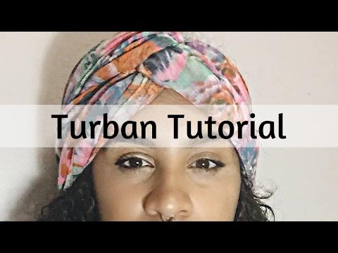 Turban Tutorial | Head Wrap Tutorial (Kristenite Speaks)
