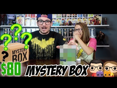 UNBOXING ANOTHER TOYUSA FUNKO POP MYSTERY BOX!!!