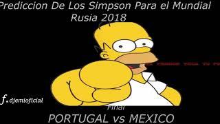 EL FINAL DE LA COPA DEL MUNDO RUSIA 2018 PREDICCIONES DE LOS SIMPSON
