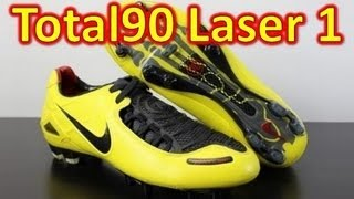 Nike Total 90 Laser 1 Zest Yellow - Retro Unboxing + On Feet