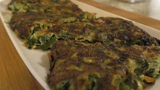 Easy Spring Onion Frittata | طرز تهیه کوکو سبزی