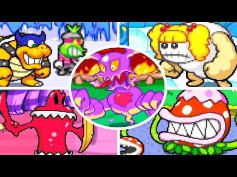 Mario & Luigi Superstar Saga All Bosses No Damage