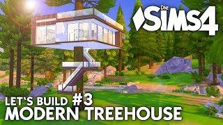 Modern Treehouse bauen in Die Sims 4 | Let's Build #3: Baumhaus einrichten