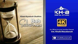 Riyadush Shalihin - Bab Sabar Hadits No. 32