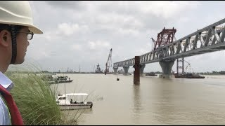 Chinese Engineers Ensure Construction Safety of Bangladesh's Largest Bridge