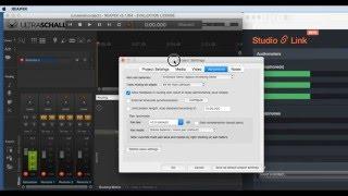 Studio Link - Audio Unit und VST Plugin unter Reaper / Ultraschall (DE)