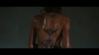 Angelina Jolie in Wanted 2008   strange apparition (movie scene 4 9)