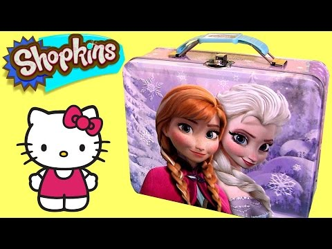 LUNCH BOX SURPRISE Magnetic Dress-Up FROZEN HelloKitty Vinyl Mystery Minis MLP MyLittlePony