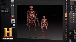 Bigfoot Captured: 3D-Printing a Bigfoot Skeleton | History