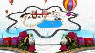 toy train cartoon -  chu chu train - train for children - train cartoon - cartoon for kids