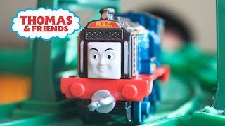 THOMAS AND FRIENDS JOURNEY BEYOND SODOR Adventures Steelworks Frankie|Take N Play Accidents happen