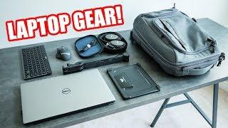Must Have Laptop Accessories! Dream Laptop Battlestation Setup