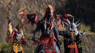 Power Rangers Dino Super Charge - Wings of Danger - Power Rangers vs Doomwing (Episode 15)