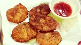Potato chicken cutlet /nuggets, Ramadan Special recipe in hindi/urdu,quick easy snack recipe