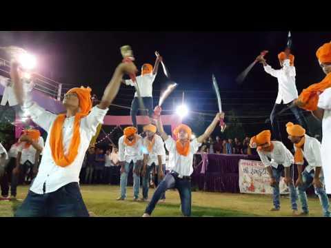 Rajputana Roar Sword show with pyramid style by rajput boys Bharuch