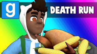Gmod Death Run Funny Moments - Ceaseless Thanksgiving Puns! (Garry's Mod)
