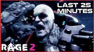 RAGE 2 | Last Mission   End Boss   Final Cinema Scenes (PC Gameplay)