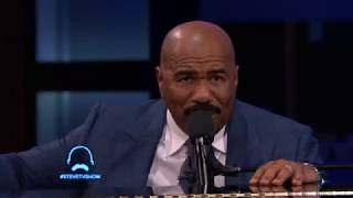 Steve Harvey Sings Relationship Advice To An Audience Member