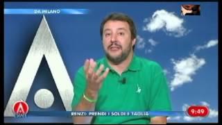 Raffaello Lupi alla fine cede alle idee di Matteo Salvini 09/09/2014