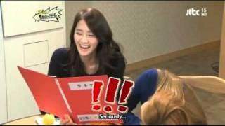 SNSD Yoona & Hyoyeon with the future congressman (Eng Sub)