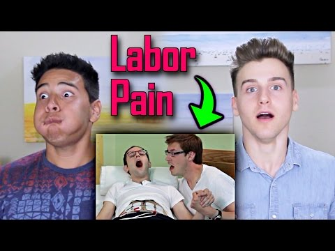 Guys Experience Labor Pain Simulation Reaction