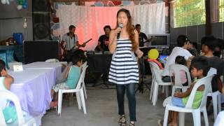 Aegis Medley by Elsie De Ausen Pineda, Divine and the Mariposa Band Philippines, 07/13/2014.