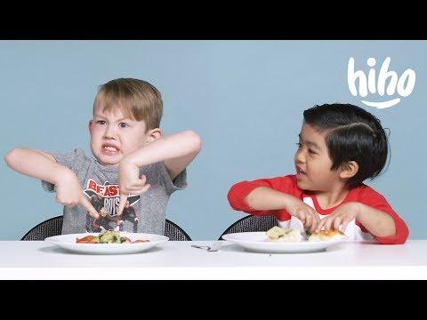 American Kids Try Dutch Food Kids Try HiHo Kids