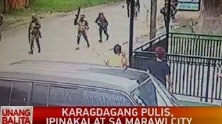 UB: Karagdagang pulis, ipinakalat sa Marawi city