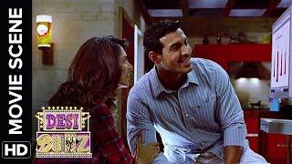John is broke before his wedding | Desi Boyz | Movie Scene