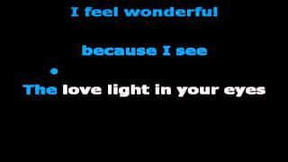 Wonderful Tonight (karaoke) - in the style of Eric Clapton