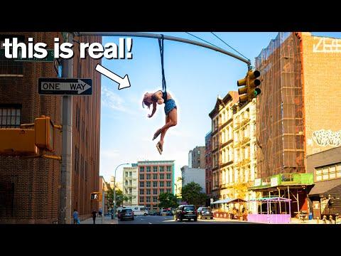 Extreme Acrobats Avoid Police for INSANE Public Stunts ft Cirque du Soleil