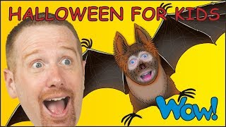 Halloween for Kids   Steve and Maggie Songs and Rhymes for Children from Wow English TV