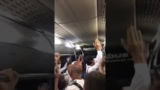 Festejos de los jugadores de Argentina tras pasar a octavos !!!