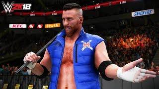 How Long Can Curt Hawkins Last in the Royal Rumble? (WWE 2K18 30 Man Royal Rumble Match!!)