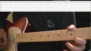 Top 10 Blink 182 Guitar Riffs (tutorial with Tabs)